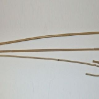 Set of Three Crooked Kooboo Canes