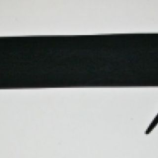 Long Matt Black Spanking Paddle