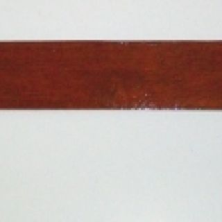 Long Stained Wood Spanking Paddle