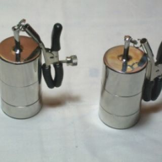 Pair of Adjustable Clamp with Weights