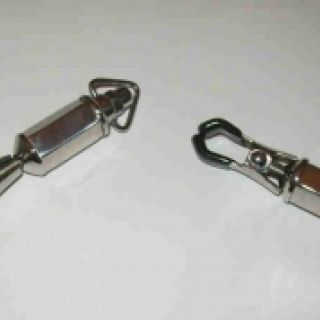 Pair of Barrel Twist Clamps